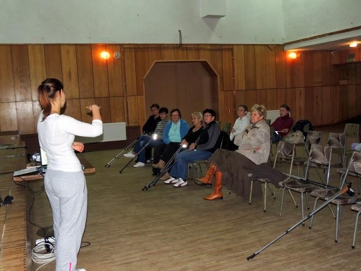 Szkolenie nordic walking   Ośrodek Kultury w Mirosławcu