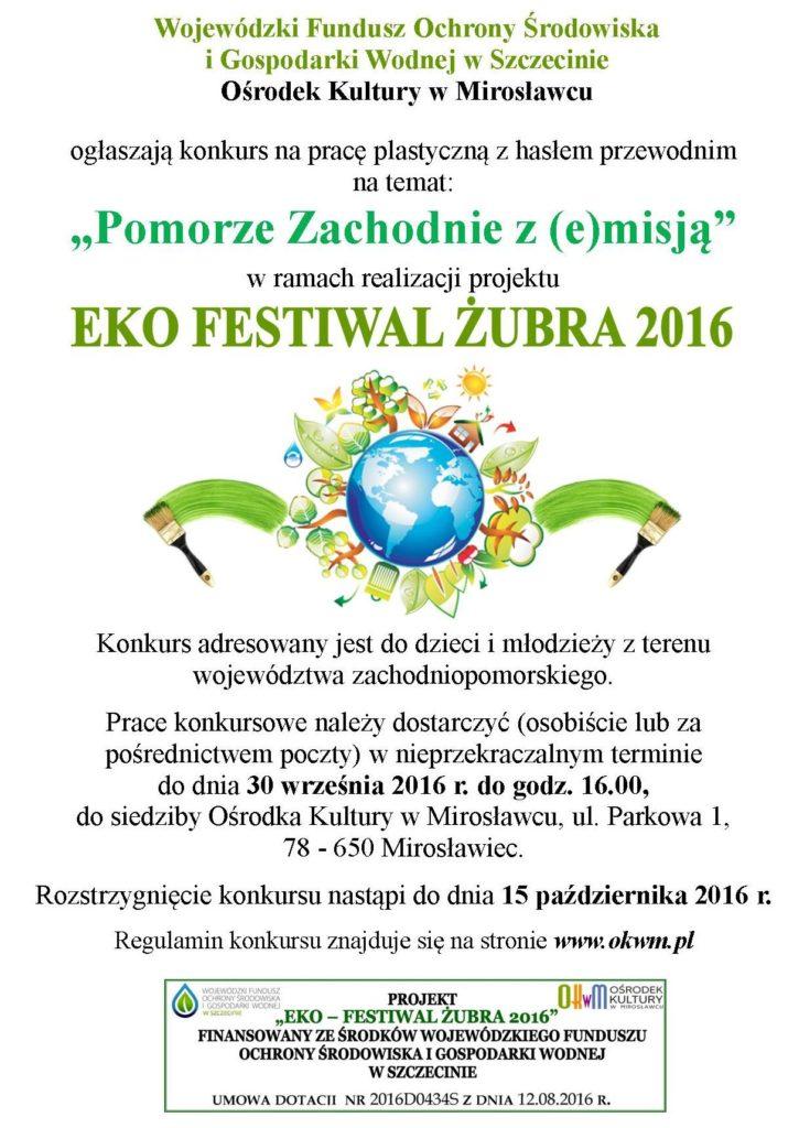 plakat promocyjny 2016